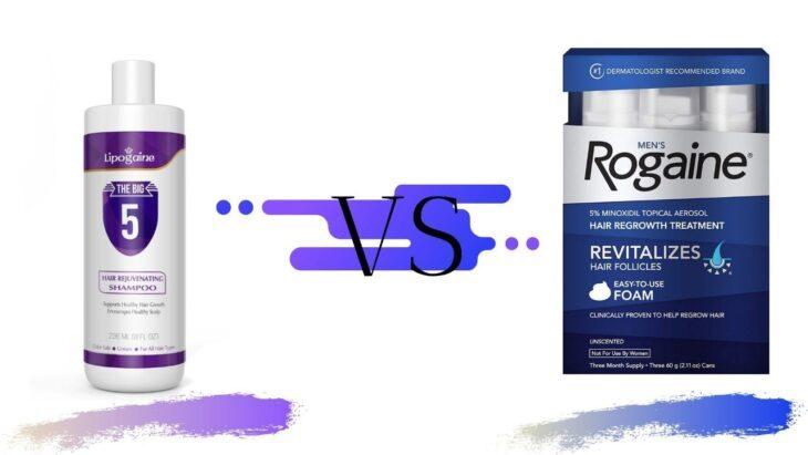 Lipogaine vs Rogaine
